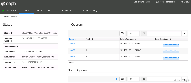 Ceph学习笔记1-Mimic版本多节点部署- LastRitter的个人空间- OSCHINA